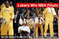 Lakers Win NBA Finals