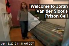 Welcome to Joran Van der Sloot's Prison Cell