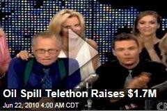 Oil Spill Telethon Raises $1.7M