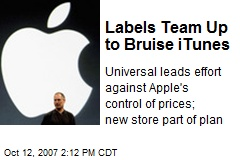 Labels Team Up to Bruise iTunes