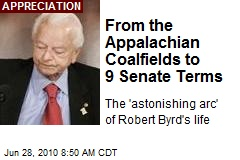 From the Appalachian Coalfields to 9 Senate Terms