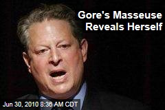 Gore's Masseuse Reveals Herself