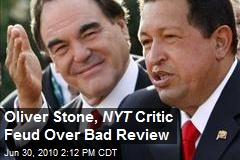 Oliver Stone, NYT Critic Feud Over Bad Review