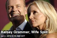 Kelsey Grammer, Wife Split