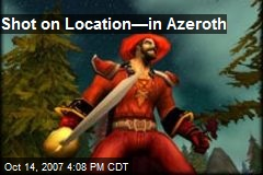 Shot on Location—in Azeroth