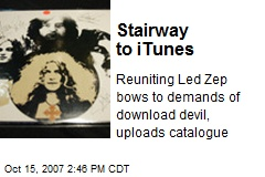 Stairway to iTunes
