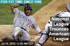 National League Trounces American League