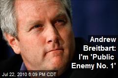 Andrew Breitbart: I'm 'Public Enemy No. 1'