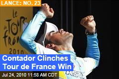 Contador Clinches Tour de France Win