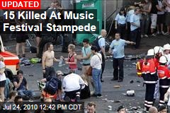 15 Killed At Music Festival Stampede