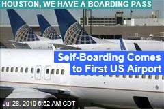Self-Boarding Comes to First US Airport
