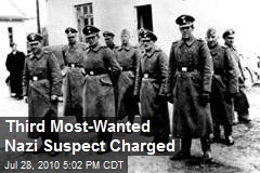Third Most-Wanted Nazi Suspect Charged