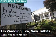 On Wedding Eve, New Tidbits