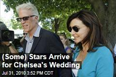 (Some) Stars Arrive for Chelsea's Wedding