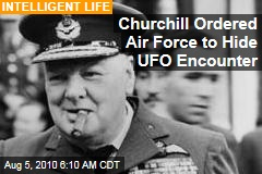 X Files: Churchill Ordered Air Force to Hide UFO Encounter