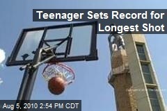Teenager Sets Record for Longest Shot