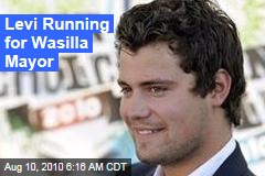 Levi Running for Wasilla Mayor