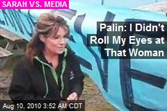 Palin Rips 'Lamestream Media' Tale of Teacher Fight