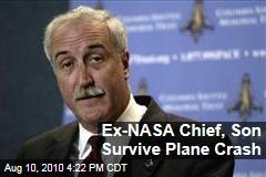 Ex-Nasa Chief, Son Survive Plane Crash