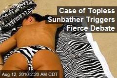 'Troubling' Topless Sunbather Triggers Italian Debate
