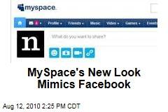 MySpace's New Look Mimics Facebook