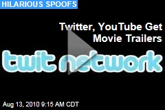 Twitter, YouTube Get Movie Trailers
