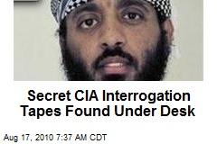 CIA Finds Secret Interrogation Tapes Under Desk