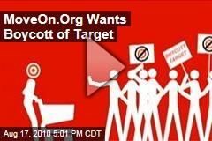MoveOn.Org Wants Boycott of Target