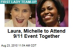 Laura, Michelle to Attend 9/11 Event Together