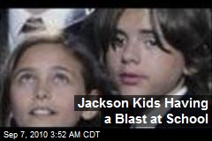 Jackson Kids Having a Blast at School
