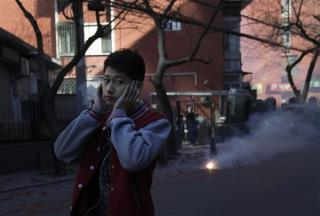 China Tries to Ax New Year's Fireworks —Over Smog