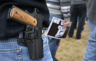 Texas Poised to Allow Open Carry of Handguns