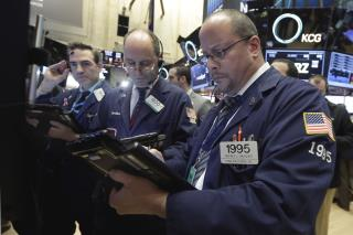 Dow Ends Day Down 117