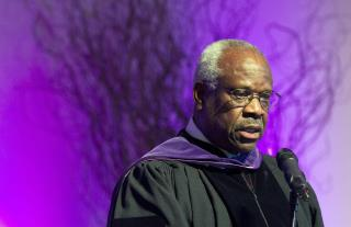 Clarence Thomas Breaks a Decade of Silence