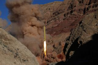 Iran Fires Missiles Marked With 'Israel Must Be Wiped Out'