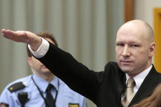 Mass Killer Breivik Greets Judge With Nazi Salute