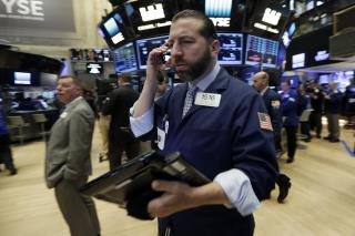 Dow Ends Day Up 222