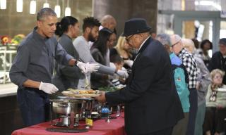Obama Marks Final Thanksgiving in White House
