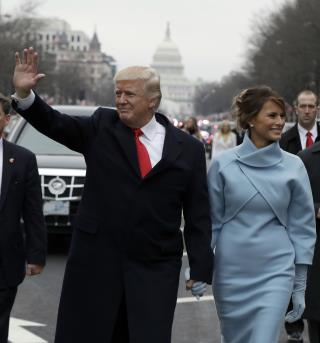Images From President Trump's Inaugural Parade
