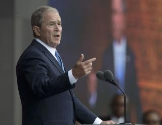 Bush Defends 'Indispensible' Media
