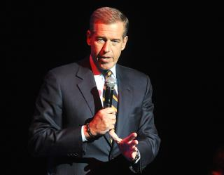 Brian Williams' Unique Take on Syria-Bound Missiles: 'Beautiful'