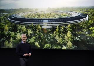 Travel Inside Apple's Singular New HQ