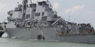 Sailors' Remains Found Inside Damaged Navy Ship