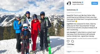 It Cost Taxpayers $330K for Security on Trump Kids' Ski Trip