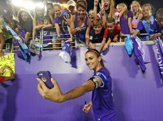 Soccer Player Alex Morgan Kicked Out of Disney World