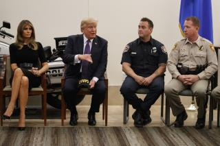 Trump in Vegas: 'Americans Defied Death and Hatred'
