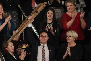 N. Korean Defector's Crutches a Reminder of Hellish Ordeal