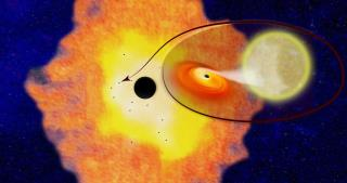 Study: Galaxy's Center Teems With Black Holes