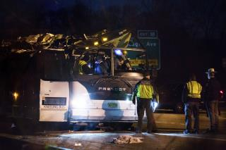 43 Hurt as Bus Carrying Teens Hits NY Overpass