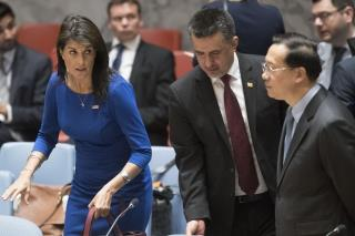Nikki Haley Threatens Russia, Syria on Sunday Talk Shows